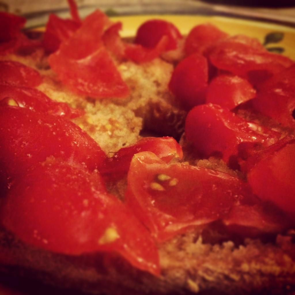 Frisella con pomodorini!