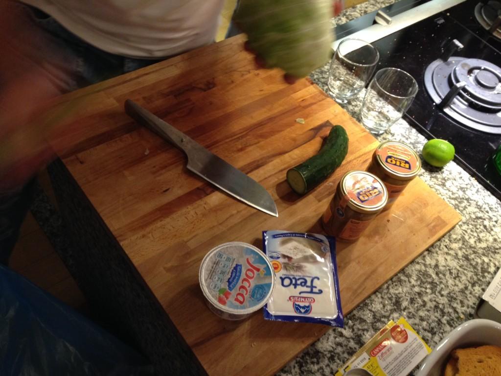 Ingredienti e coltello SERIO!