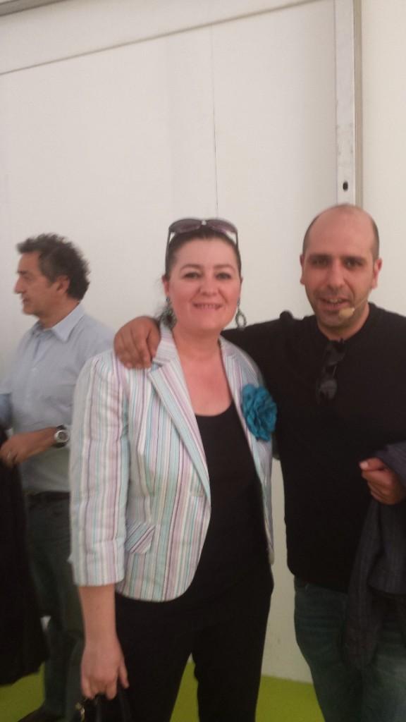 Lorena e Checco Zalone!