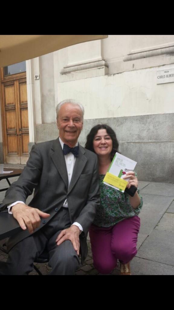 Lorena ed il Maestro Paolo Poli