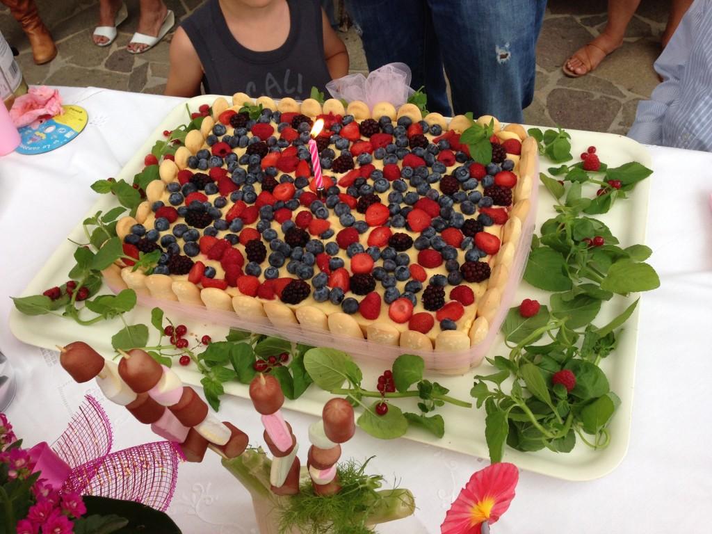 The Bday Cake!