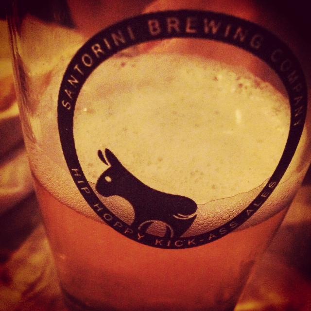 Santorini's Beer!